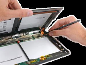 reparar tablet