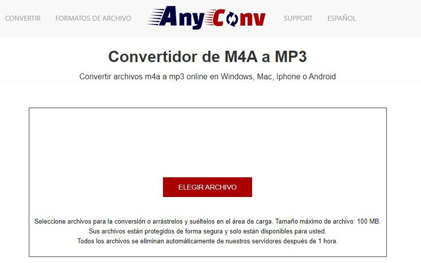 Las 3 mejores formas de convertir M4A a MP3